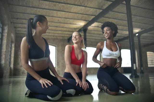 join a gym with a friend - New Year's Fitness Resolution Ideas