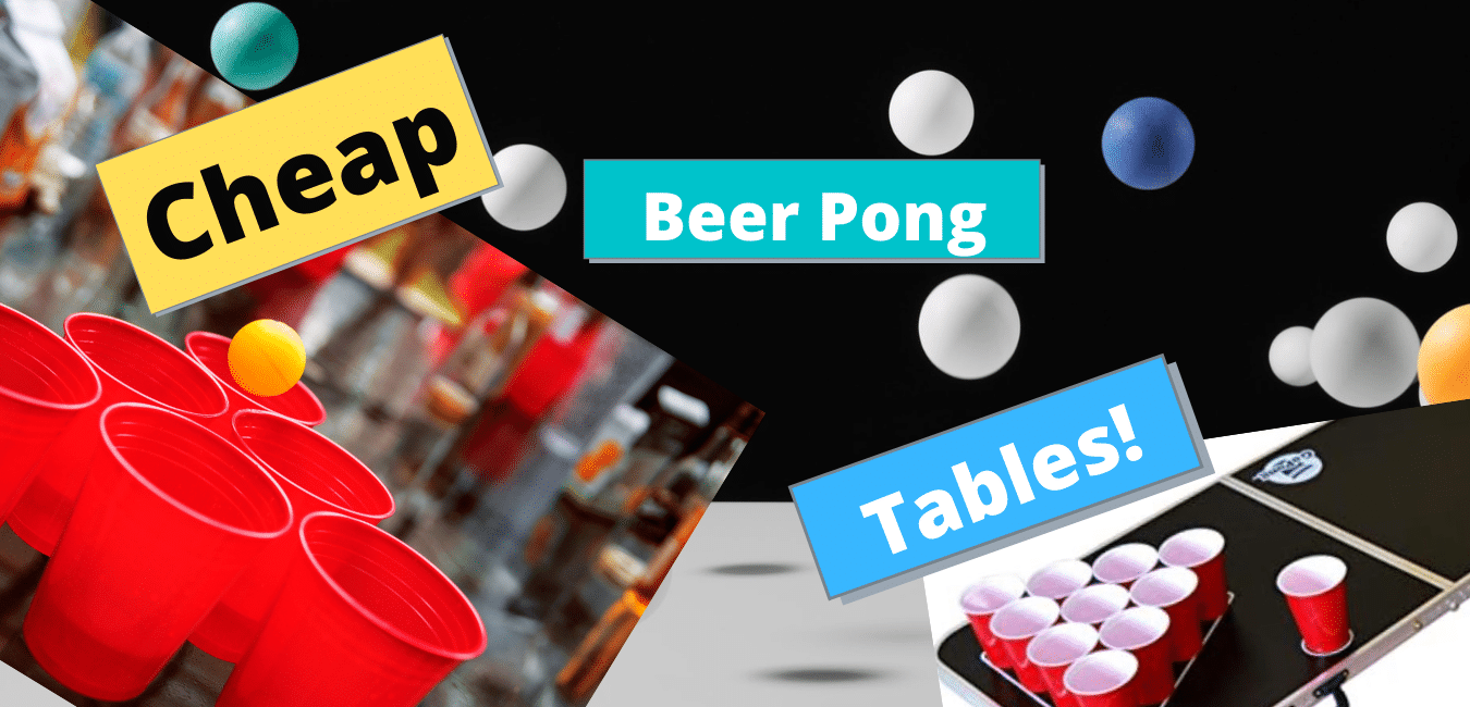 cheap beer pong tables