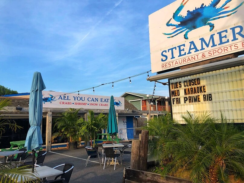 steamers restaurant and sports bar