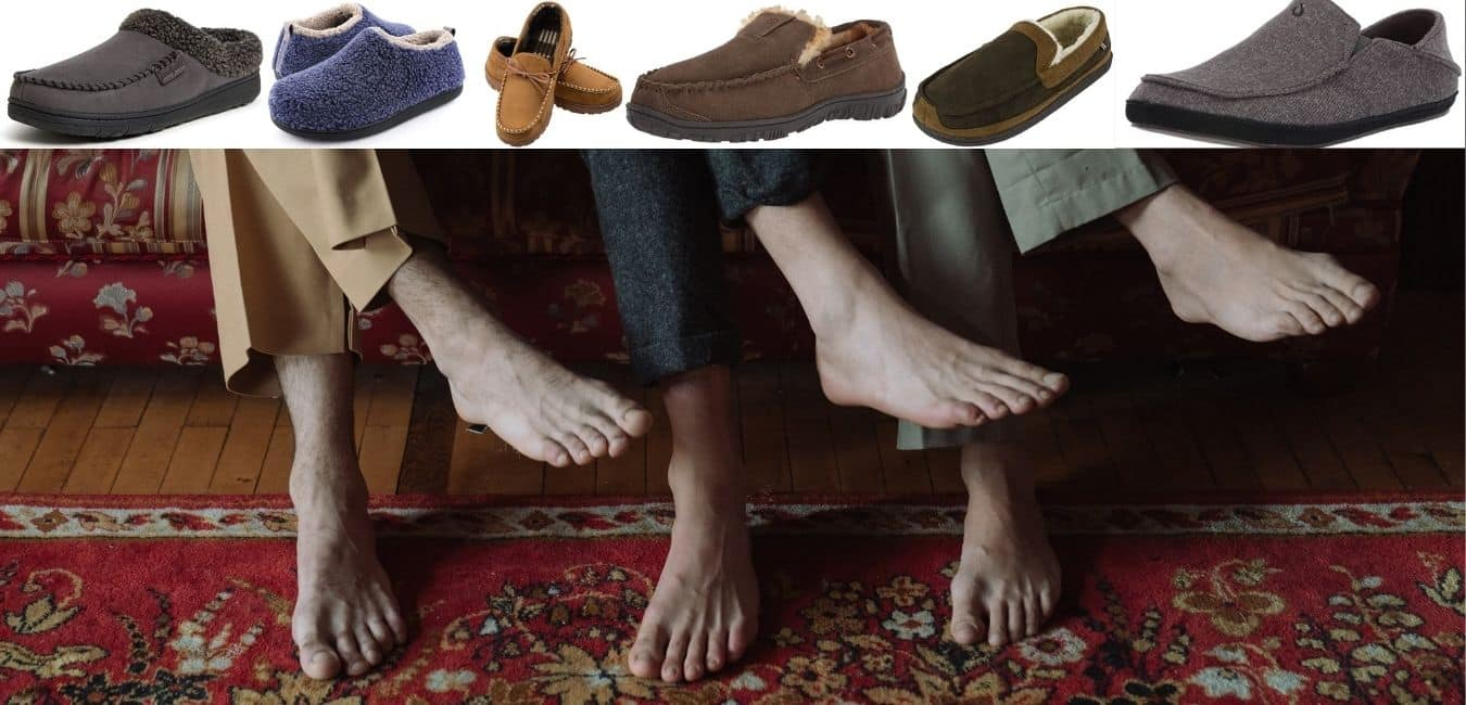 best mens slippers for smelly feet